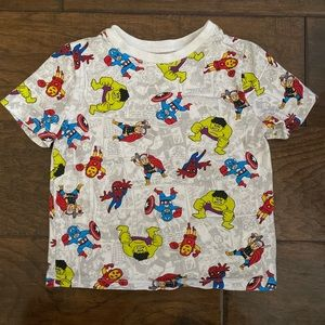 Kid's Marvel Tshirt